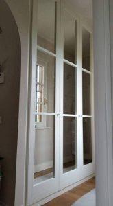armadio con specchi
